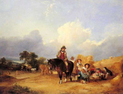 Harvest Time by William Shayer