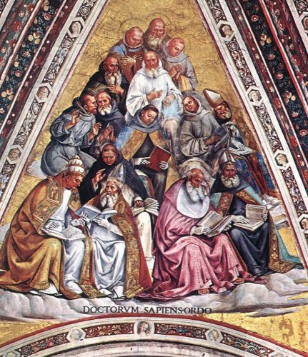 Doctors of the Church by Luca Signorelli