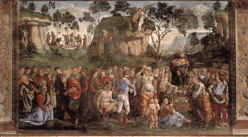 Moses's Testament and Death by Luca Signorelli