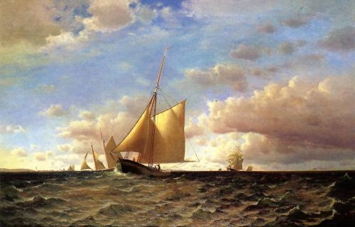 After the Equinotial, off Sandy Hook by Francis Silva