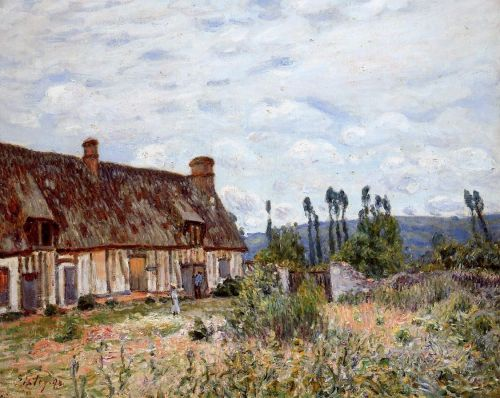 Abandoned Cottage, 1894 by Alfred Sisley
