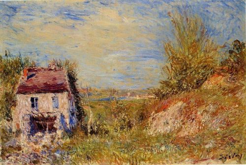 Abandoned House, 1886 by Alfred Sisley