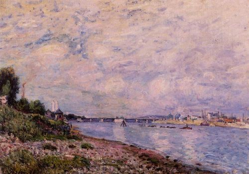 Bougival, 1878 by Alfred Sisley