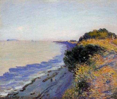 Bristol Channel from Penarth, Evening, 1897 by Alfred Sisley