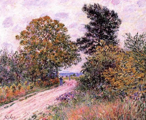 Edge of the Fountainbleau Forest: Morning, 1885 by Alfred Sisley