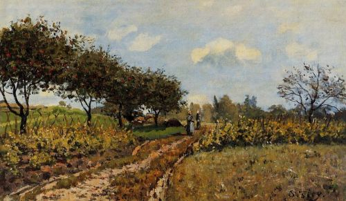 Path in the Country, 1876 by Alfred Sisley