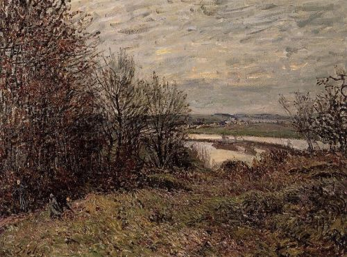 The Roches-Courtaut Wood, near By, 1880 by Alfred Sisley