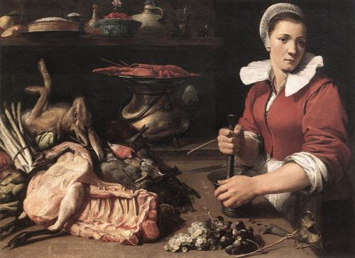 Cook with Food by Frans Snyders