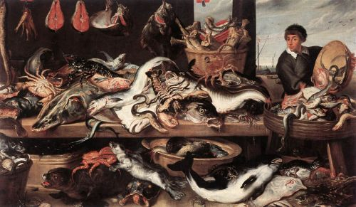 Fishmonger by Frans Snyders