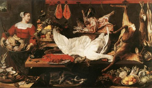 The Pantry by Frans Snyders
