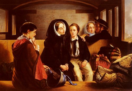 Second Class: The Parting by Abraham Solomon