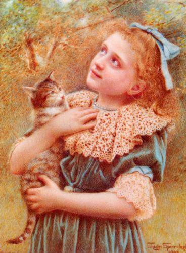 Kitty Spencelayh by Charles Spencelayh