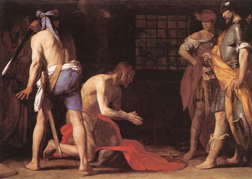 Beheading of St John the Baptist by Massimo Stanzione