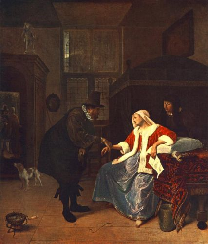 Love Sickness by Jan Steen