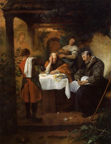 Supper at Emmaus by Jan Steen