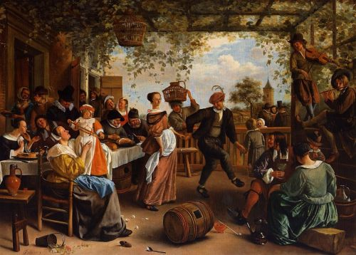 The Dancing Couple by Jan Steen