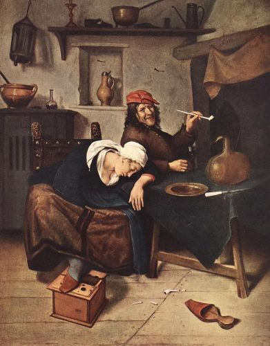 The Drinker by Jan Steen