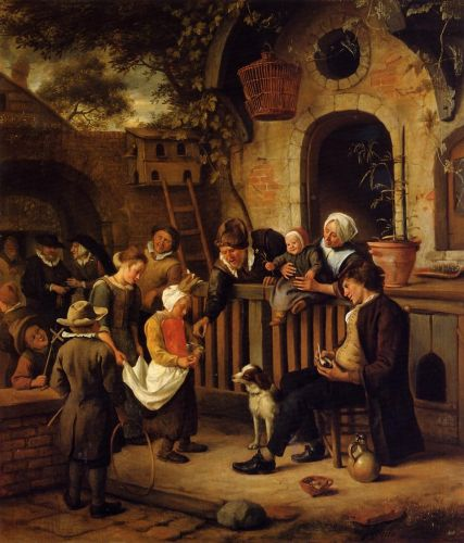The Little Alms Collector by Jan Steen
