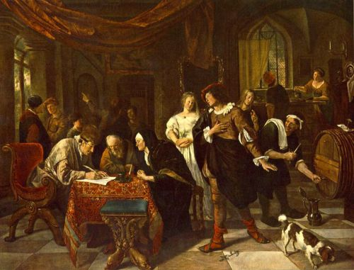 The Marriage by Jan Steen