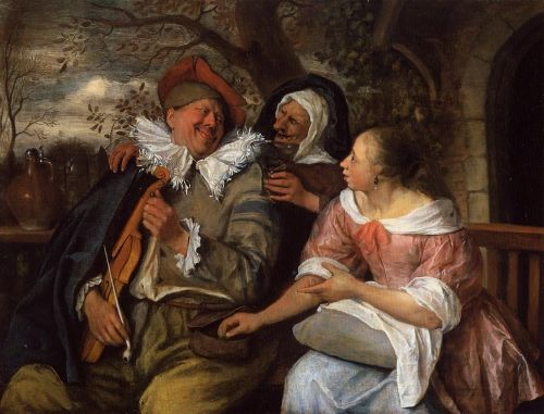 The Merry Threesom by Jan Steen
