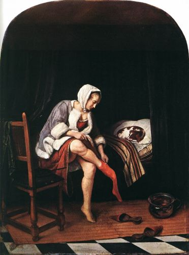 The Morning Toilet by Jan Steen