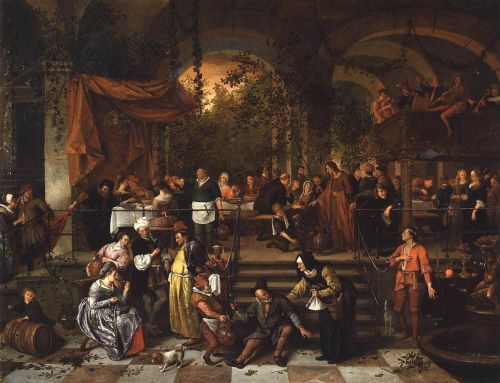 The Wedding Feast at Cana by Jan Steen