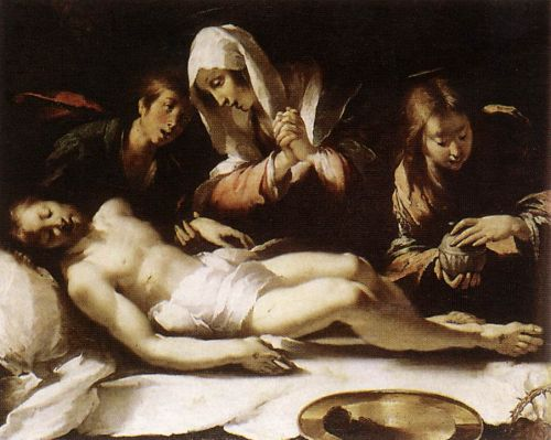 Lamentation over the Dead Christ. painting 10 of 26 by Bernardo Strozzi