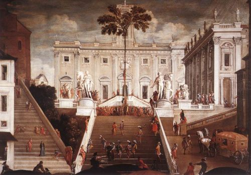 Competition on the Capitoline Hill by Agostino Tassi