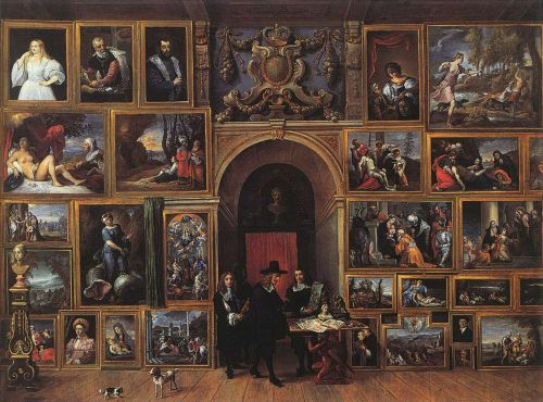 Archduke Leopold Wilhelm of Austria in his Gallery by David Teniers the Younger