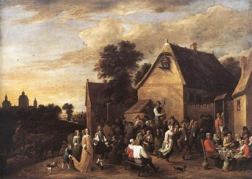 Flemish Kermess by David Teniers the Younger