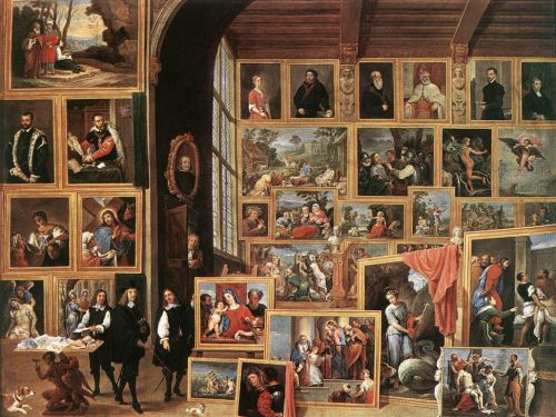 The Gallery of Archduke Leopold in Brussels by David Teniers the Younger
