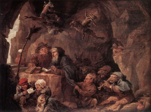 The Temptation of St Anthony by David Teniers the Younger
