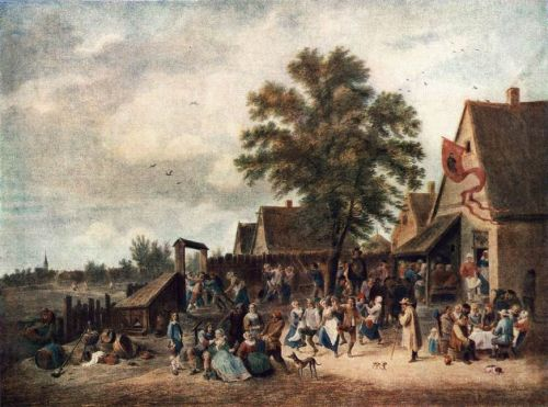 The Village Feast by David Teniers the Younger
