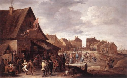 Village Feast by David Teniers the Younger