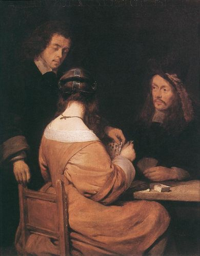 Card Players by Gerard Ter Borch