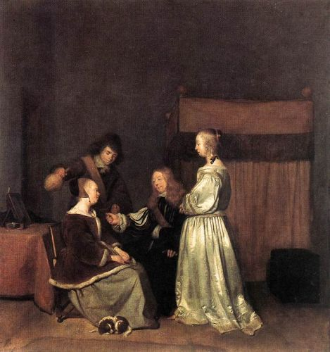 The Visit by Gerard Ter Borch