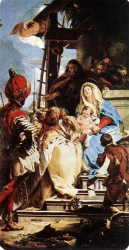 Adoration of the Magi by Giambattista Tiepolo