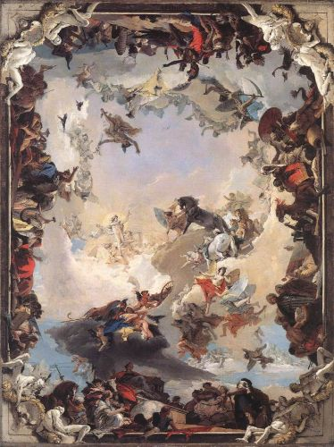 Allegory of the Planets and Continents by Giambattista Tiepolo