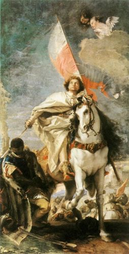 St James the Greater Conquering the Moors by Giambattista Tiepolo