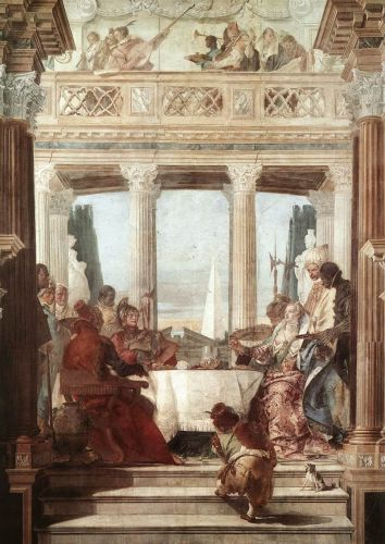 The Banquet of Cleopatra by Giambattista Tiepolo