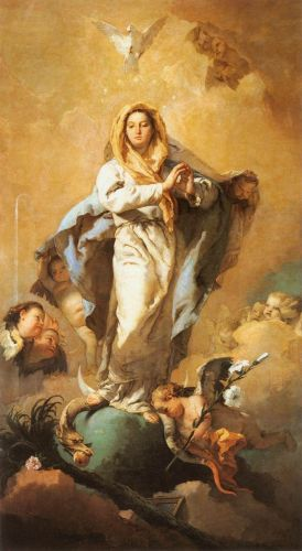 The Immaculate Conception by Giambattista Tiepolo