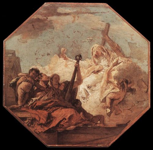 The Theological Virtues by Giambattista Tiepolo