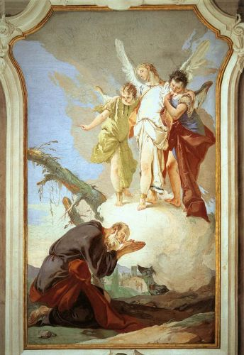 The Three Angels Appearing to Abraham by Giambattista Tiepolo