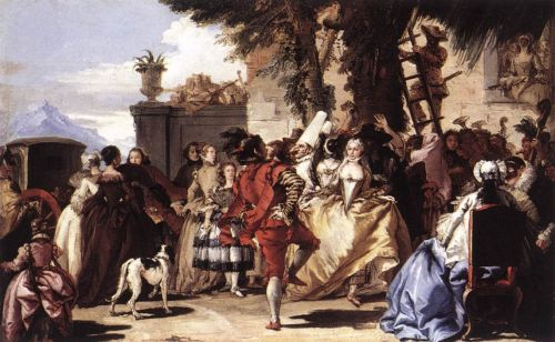 Ball in the Country by Giovanni Domenico Tiepolo