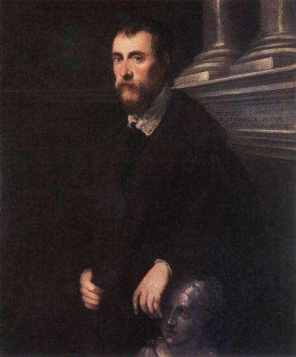 Portrait of Giovanni Paolo Cornaro by Jacopo Robusti Tintoretto