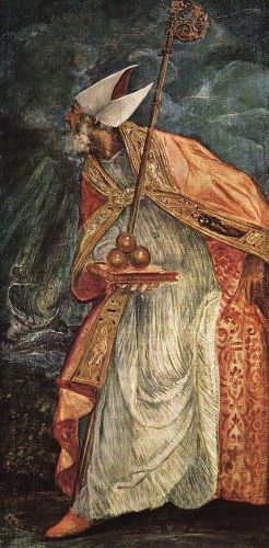 St Nicholas by Jacopo Robusti Tintoretto