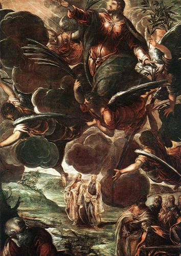 The Ascension by Jacopo Robusti Tintoretto