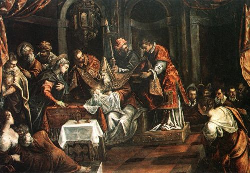The Circumcision by Jacopo Robusti Tintoretto