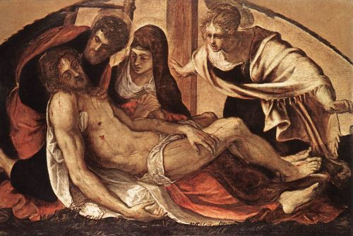 The Deposition by Jacopo Robusti Tintoretto