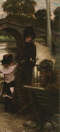A Declaration of Love by James Tissot